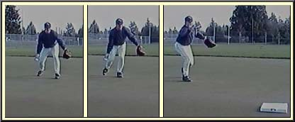 shortstop underhand to second